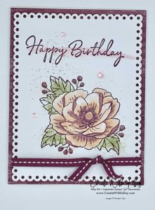 paper pumpkin, lovely day, stitched rectangle dies, happy birthday to you