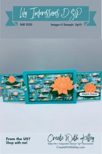 Lily Impressions Double Slider Magnet Card - open