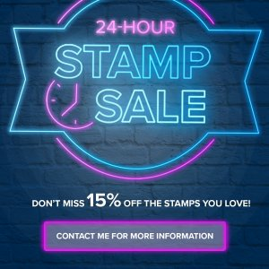 Stampin' Up!'s 24-hour stamp sale
