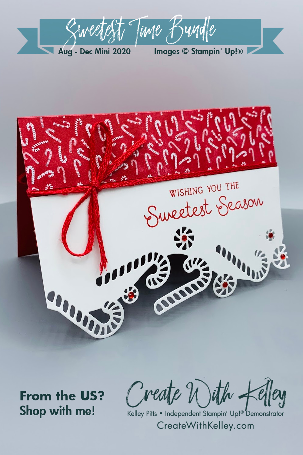 Most Wonderful Time Sweetest Time Candy Cane
