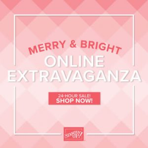 Stampin' Up! Merry & Bright Online Extravaganza
