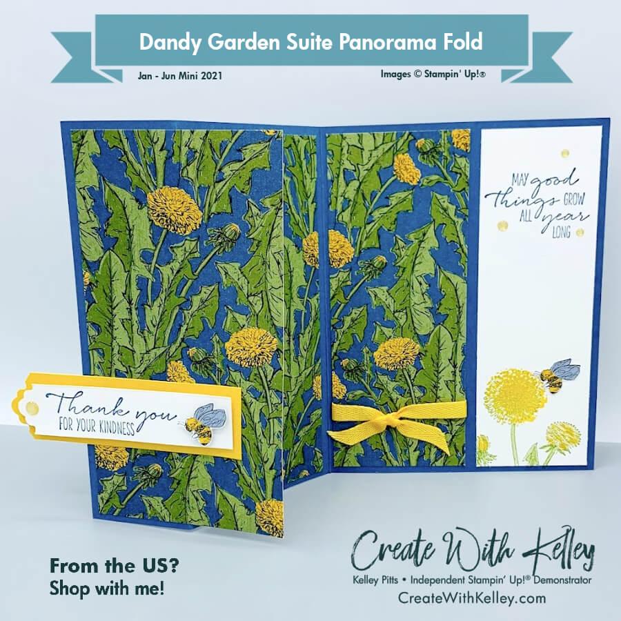 Dandy Garden Panorama Fold