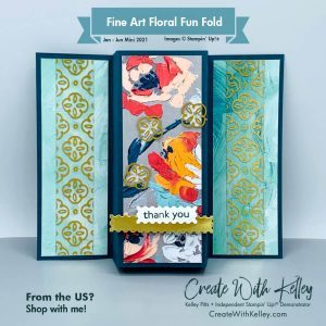 Fine Art Floral Fun Fold
