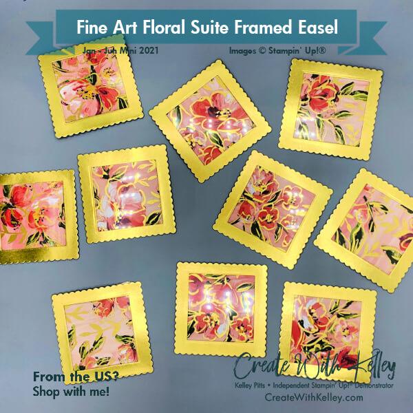 Fine Art Floral DSP frames