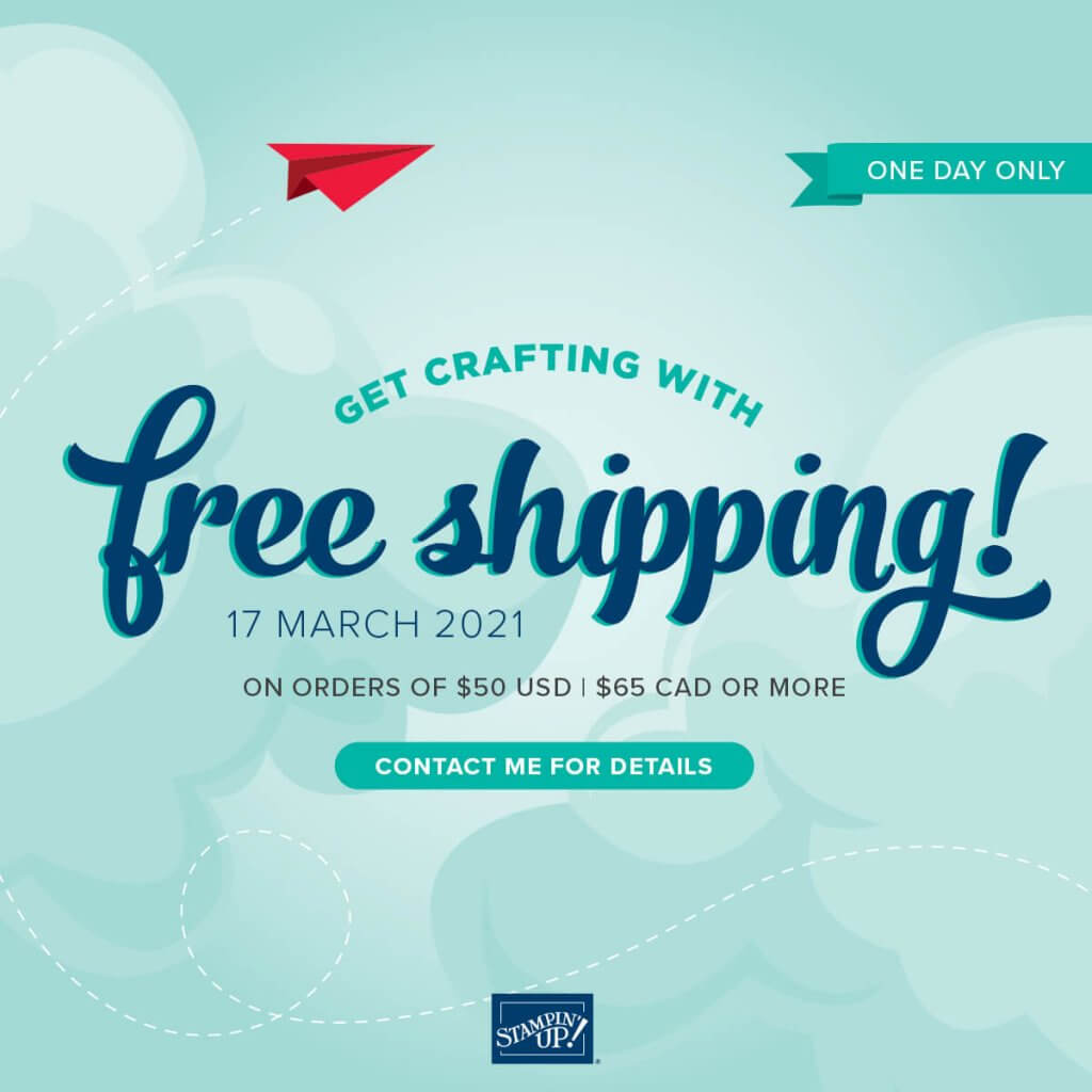 Free Shipping March 17 only