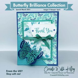 Butterfly Brilliance Pocket Plus Mini Card Front