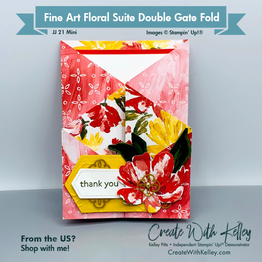 Fine Art Floral Suite Double Gate Fold