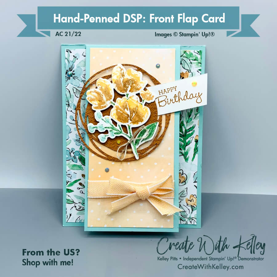 Hand Penned DSP Front Flap