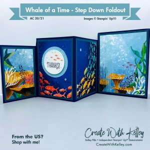 Whale of a Time Step Down Foldout