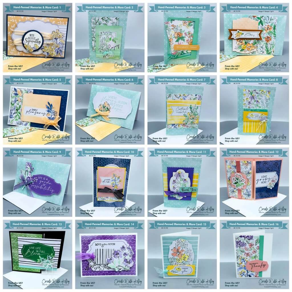 Hand-Penned Memories & More Collage with envelopes