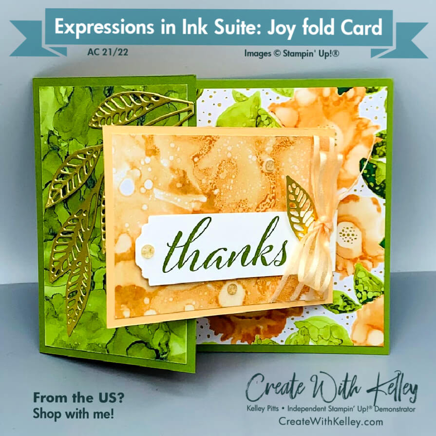 Expressions In Ink Suite Joyfold Card