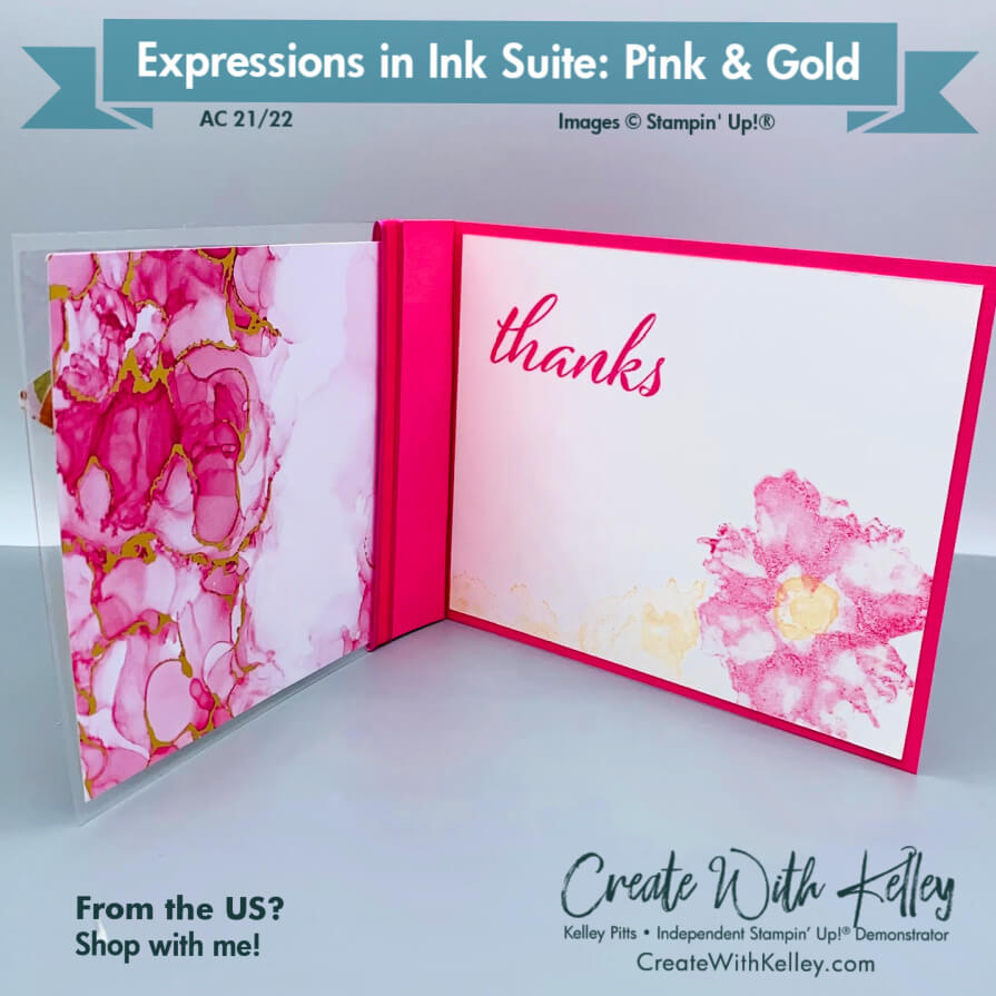 Expressions in Ink Suite Pink & Gold inside
