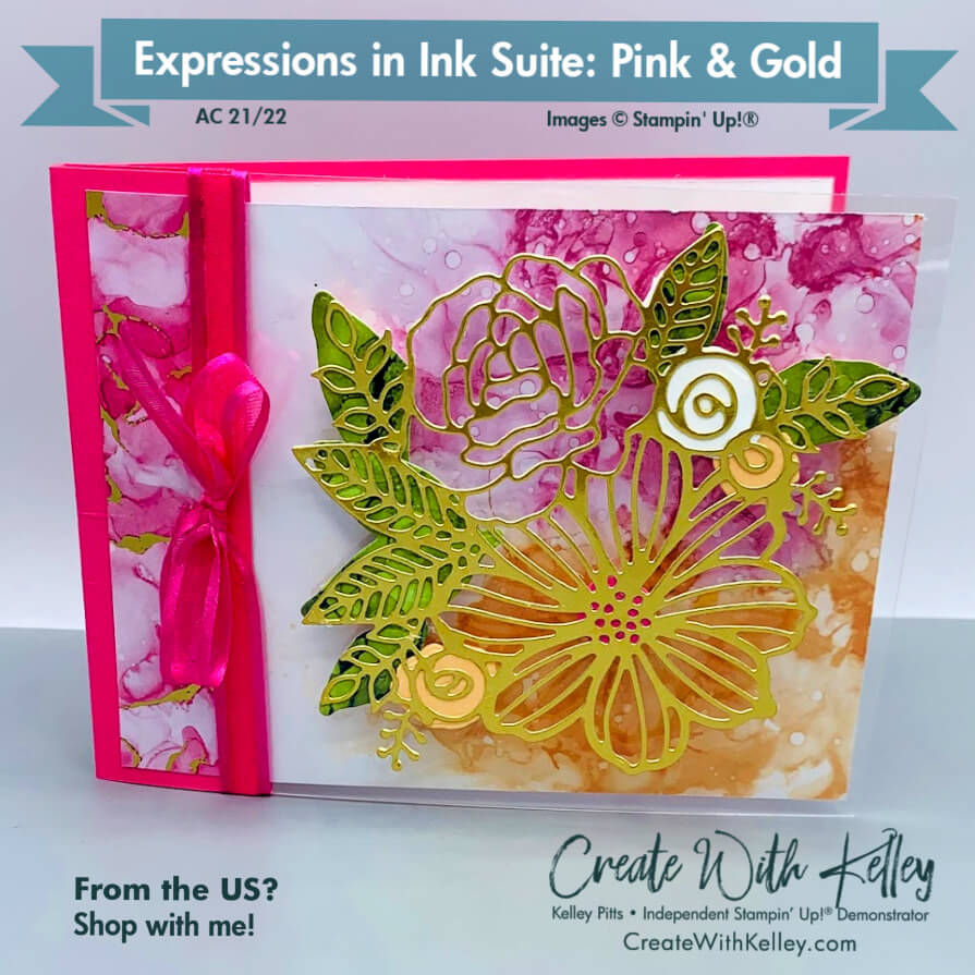 Expressions in Ink Suite: Pink & Gold