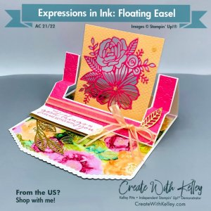 Stampin' Up! Expressions In Ink Suite: Floating Easel