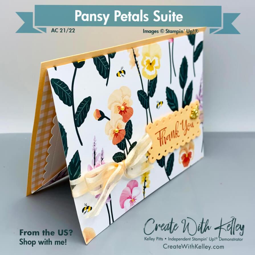 Pansy Petals DSP pocket card front